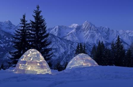 Iglu_Uebernachtung_Skitourenschule_Osttirol_Willi_Seebacher