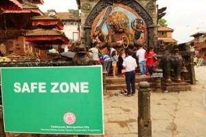 AS_MHA_Safe_Zone_Durbar_Square_ Kathmandu_Neue_Energie_fuer_Nepal_Go_Green_2015