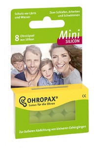 Ohropax Mini Silicon1
