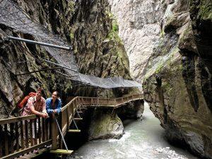 Die Trient-Schlucht bei Vernayaz im Wallis ~ Foto: Valais / Wallis Promotion / Thomas Andenmatten